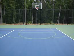 sports courts basketball courts volleyball court inline