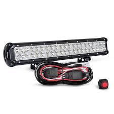 Led Light Bar Driving Lights by Nilight 20 Inch 126w Spot Flood Combo Led Light Bar Led Work Light