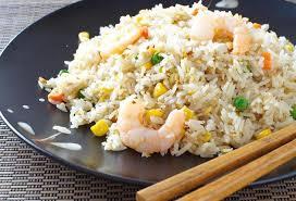 cuisine avec du riz riz cantonnais avec jambon blanc