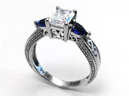 sapphire engagement rings meaning wedding rings wedding rings with sapphires and diamonds sapphire
