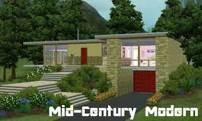 Mid Century House by Mod The Sims Mid Century Modern