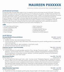 Lcsw Resume Sample by Best Personal Financial Advisor Resume Example Livecareer