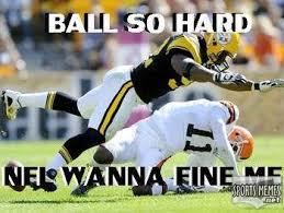 Ball So Hard Meme - ball so hard nfl wanna fine me meme