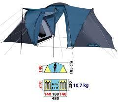 toile de tente 4 places 2 chambres toile de tente 4 places mundu fr