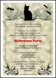 scary halloween invitations u2013 fun for christmas