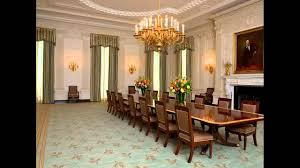 michelle obama unveils redecorated white house dining room see the