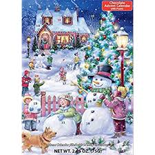 advent calendar snowman celebration chocolate advent calendar