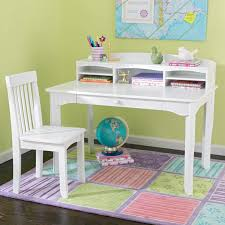Small Kid Desk Kidkraft Avalon Desk With Hutch Hayneedle