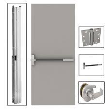 32x80 Exterior Door by 32 X 80 Commercial Doors Exterior Doors The Home Depot