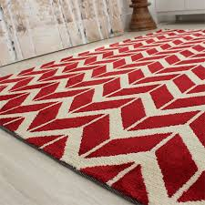 floor l with red shade buy arlo chevron rug red shade short pile land of rugs