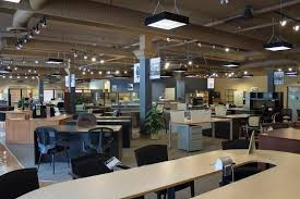 fresh office furniture showroom home interior design simple