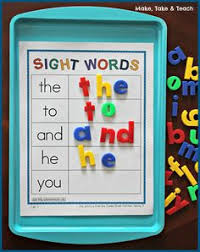sight words and word families week 2 sight words words and word