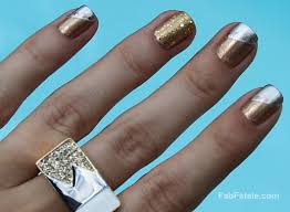 manicure mondays 24k white u0026 rose mixed metals fab fatale