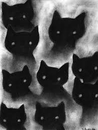 Halloween Cat Poem Halloweenie Time U2022 Cat Poetry The Black Cat Black Cat Prowls In