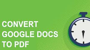 tutorial youtube pdf convert google docs to pdf tutorial no youtube ads youtube