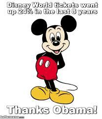 Disney World Meme - disney world obama