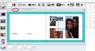 how to design a photo album using jhoto software photo books