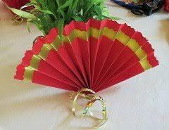 how to make paper fans paper fan wedding ideas