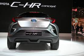 2018 toyota c hr will toyota says c hr will debut at geneva 2016 shows concept in tokyo
