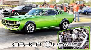 lexus v8 sports car turbo lexus v8 swapped celica 5th gen camaro chokes up byron