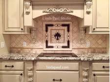 kitchen backsplash medallions paul studio tile contractors on home and garden design ideas