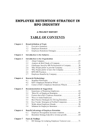 Best Resume Format For Experienced In Bpo by Employee Retention Strategy In Bpo Industry