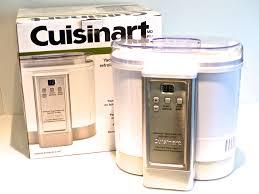 cuisinart electronic yogurt maker review