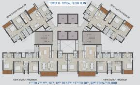 680 sq ft 1 bhk 1t apartment for sale in kalpataru group immensa