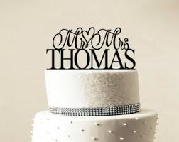 custom wedding cake toppers custom wedding cake topper personalized monogram cake topper