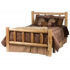 Cabin Bed Frame Log Cabin Beds Rustic Bed Frames Rocky Top Furniture