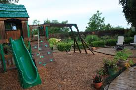 empty nest gardens and quilts playground for grandkids