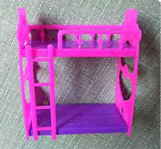 Barbie Beds 1 Set Barbie Beds With Ladder Bedroom Furniture R Ebay