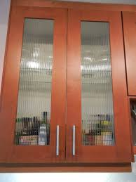 custom kitchen cabinet doors with glass custom reed glass in adel cabinets ikea hackers