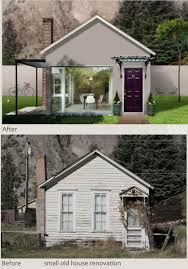 old house restoration before and after