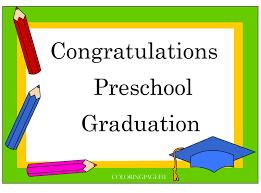 preschool graduation certificate preschool graduation certificate free coloring page