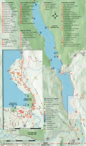 Map Of Spokane Washington Area Map Christina Lake Bc Canada