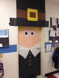 thanksgiving classroom indian kindergarten door
