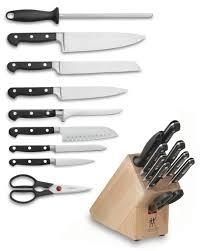 kitchen knives henckel zwilling j a henckels professional s 10 knife block set