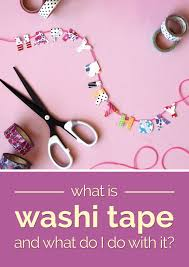 washi tape diy what is washi tape and what do i do with it thegoodstuff