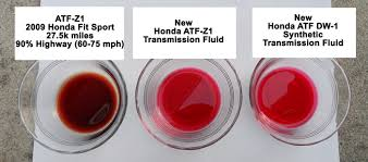 2009 honda accord transmission fluid change changed transmission fluid atf z 1 and synthetic dw 1