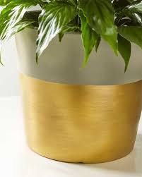 dipped in gold dipped in gold planter favecrafts