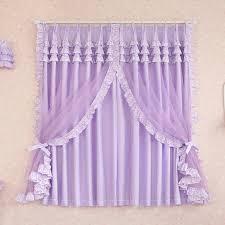 Lavender Window Curtains Princess Style Lace Beautiful Lavender Curtains Drapes
