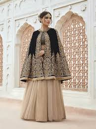 cape designs 2017 anarkalis buy dubai cape style beige