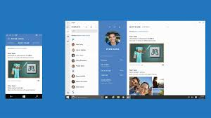 windows 10 apps windows design pinterest windows 10 and ui ux new skype for windows 10 with the phone number new skype app will have new interface looks simple sober and look very similar to the other chat apps
