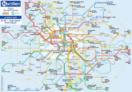 La Subway Map France Paris Train Rail Maps Understanding Society Is A Rail