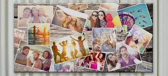 personalised photo collage canvas prints gift ideas