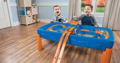 step2 wheels table catch speed with the step2 wheels car and track play table