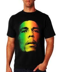 Flag Face Bob Marley Jamaican Flag Face T Shirt U2013 Bewild