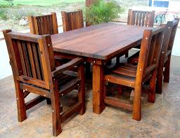 dining room table kits patio tables and chairs free wood patio table and chairs diy