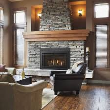 Indoor Gas Fireplace Ventless by Best 25 Vented Gas Fireplace Ideas On Pinterest Direct Vent Gas